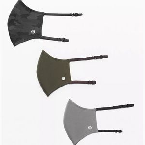 lululemon NWT 3 Pack Face Masks